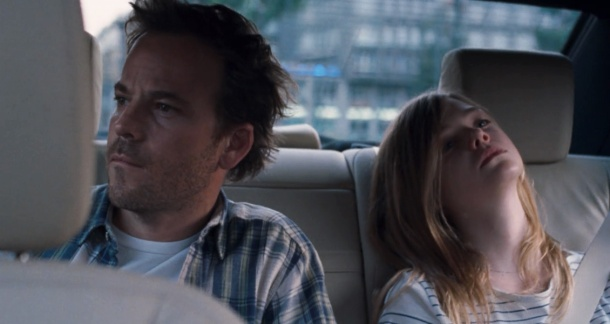 Stephen Dorff and Elle Fanning in 'Somewhere'